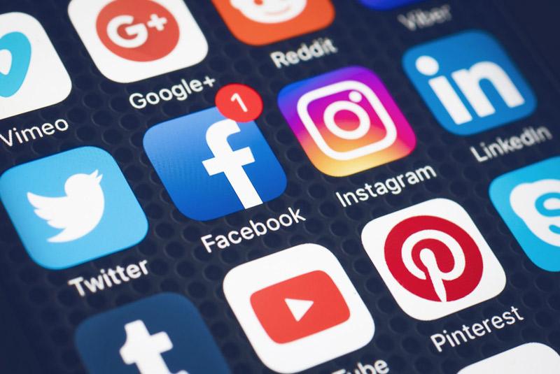 Social media for visas